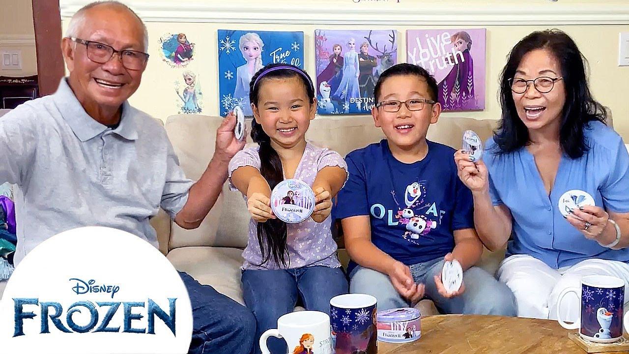 Let's Play Spot it! - Frozen II   How to Hygge   Frozen Friends Club