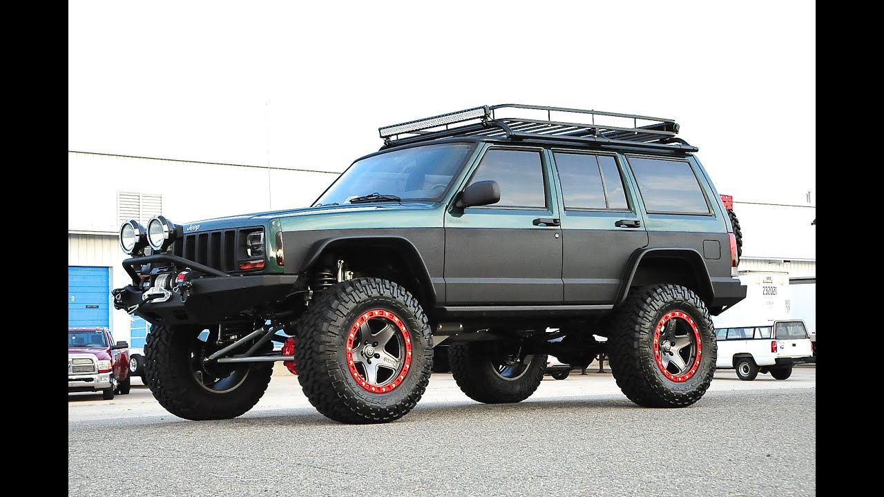 Lifted Jeep Cherokee >> Davis AutoSports STAGE 6 LIFTED CHEROKEE FOR SALE VIDEO 1 OF 3 - YouTube