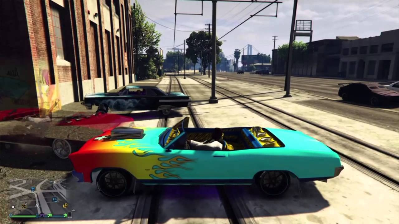 Comment sauter en voiture lowrider gta online youtube for Voiture garage gta 5