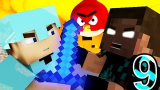 ANGRY MINECRAFT 9 (Herobrine Vs. Steve) Minecraft Animation Movie - Angry Birds