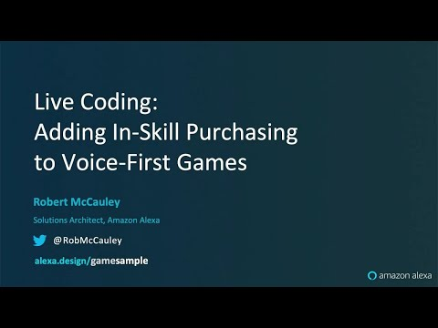Alexa Live Coding: Adding ISP To Voice-First Games