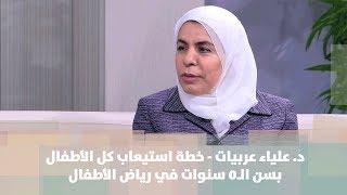 د. علياء عربيات - خطة استيعاب كل الأطفال بسن الـ5 سنوات في رياض الأطفال