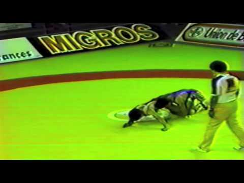 1989 Senior World Championships: 52 kg Mexico vs. Metin Topaktas (TUR)