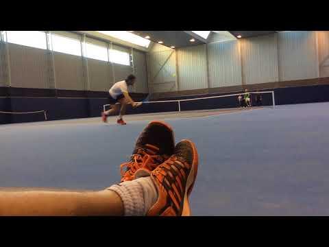 Rafa Nadal training at the Rafa Nadal Academy before the World Tour Finals 2017 #Nadal