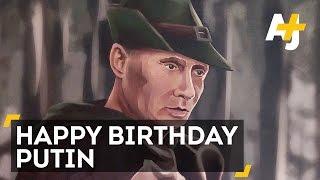 Russia Really Into Celebrating President Putin