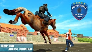Police Horse Crime City Chase By Vital Games Production Android Gameplay HD