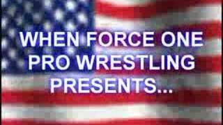 FOPW Pledge of Allegiance promo - forceoneprowrestling.com