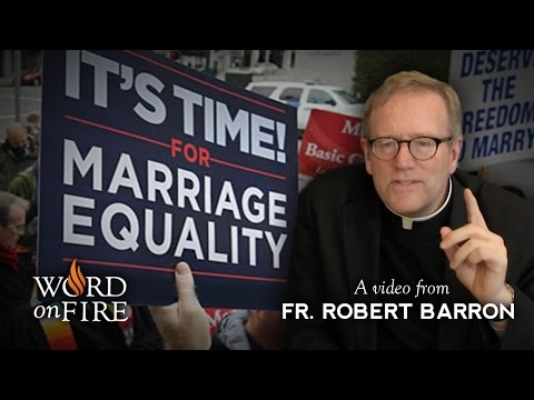 Bishop Barron on Gay Marriage & the Breakdown of Moral Argument