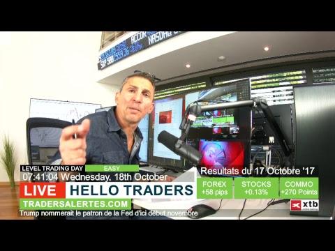 Emission Hello Traders émission du 18 Octobre 17