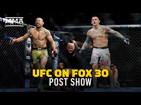 UFC on FOX 30 Post-Fight Show - MMA Fighting