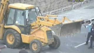 Jerusalem Terror : Bulldozer Attack  [March 5 2009]