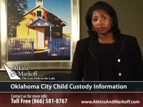 Oklahoma Child Custody Attorney and Info