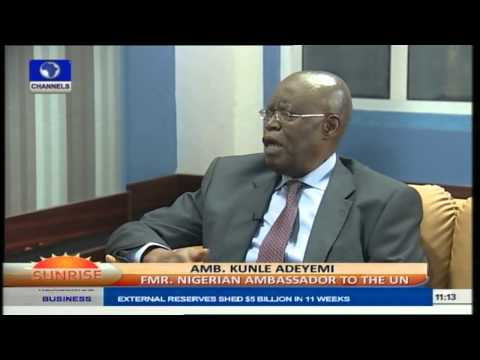 Nigerian Embassies Abroad Are Doing Well At Protecting Nigerians -- Amb. Adeyemi Pt.1