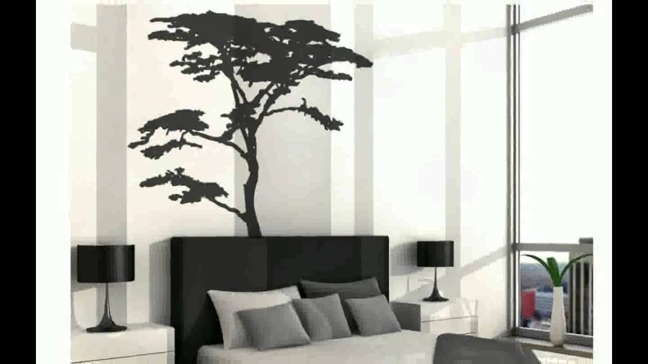 Black tree wall decal roselawnlutheran for Black tree wall mural