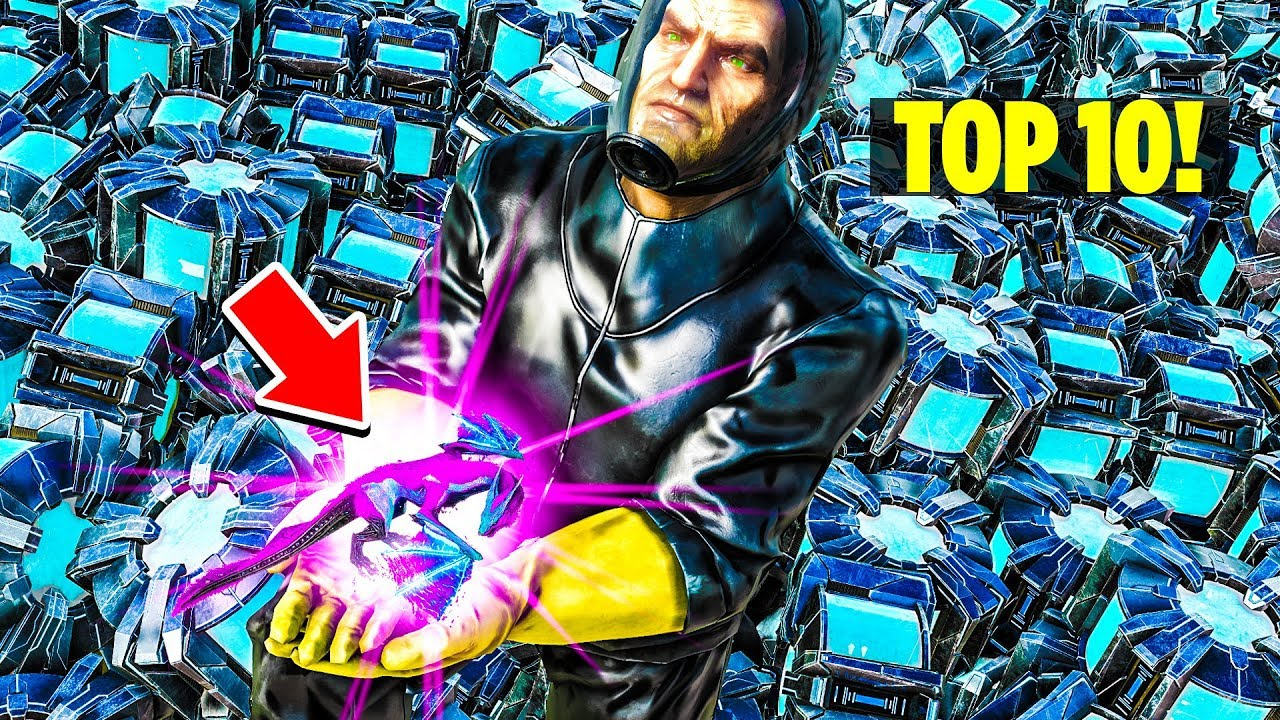 MOST PEOPLE ARE TOO DUMB TO FIGURE THIS OUT! ARE YOU? Top 10! Ark: Survival  Evolved Extinction