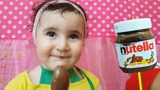 Celina Pretend Playing with Balloons - Kids Songs -  الالوان بالبالونات للاطفال اغاني