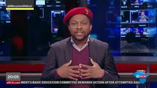 #AsItHappens with Dr Mbuyiseni Ndlozi - PART 1