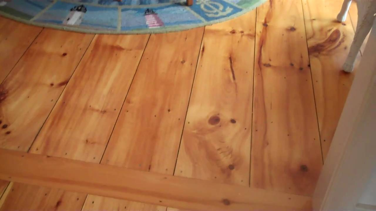 Nantucket Homes Pine Wood Floors  YouTube