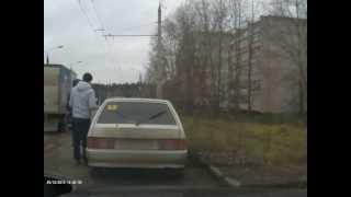 Штраф за пешеходов(Можно ли по данному видео оспорить штраф за непропущеных пешеходов которые стояли за автобусом?, 2013-10-29T09:41:30.000Z)