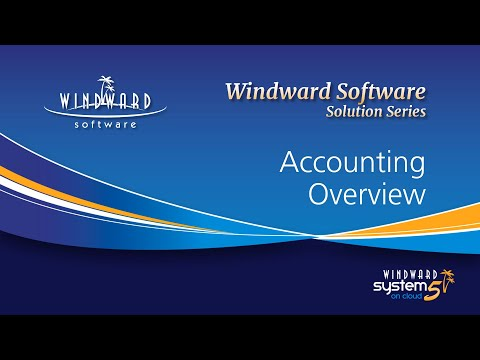 Accounting Overview - Windward Software Solution Series