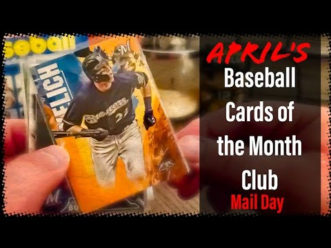 NEW Baseball Cards Of The Month Club Subscription Package Arrived! - Mail Day With Bigten