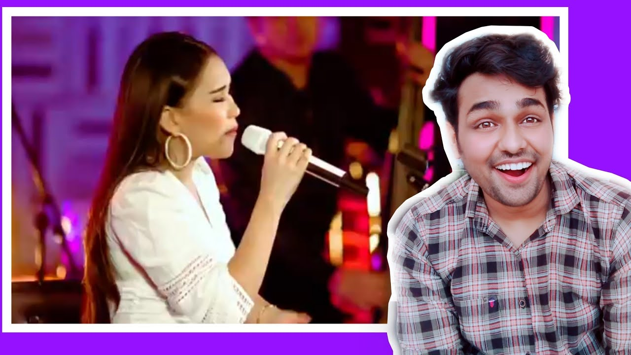 Ayu Ting Ting - Sambalado (Live Youtube Music Sessions) reaction on Ayu Ting Ting