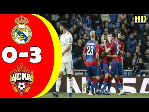 REAL MADRID 0-3 CSKA MOSCOW | Champions League highlights December 13, 2018