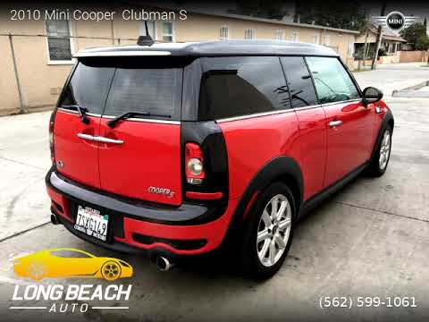 2010 Mini Cooper Clubman Long Beach Auto Youtube