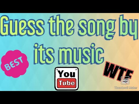 Guess The Song By Its Music Challenge Youtube