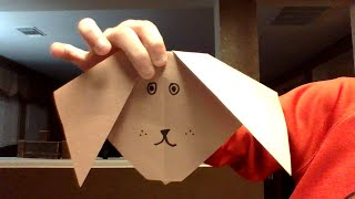 how to make a paper dog