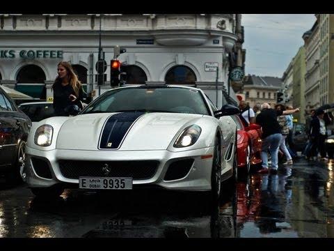 Dubai Ferrari Owner's Club Meet in Vienna - 34 Ferrari (599 GTO, Scuderia 16M, 458 ...)