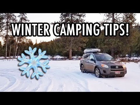 Budget Winter Vanlife Tips! (i.e., How To Not Freeze To Death When Car Camping)