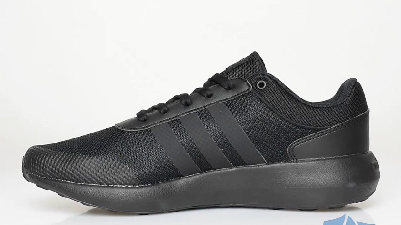 adidas cloudfoam swift racer all black