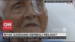 Download Video Nyak Sandang Kembali Melihat, Setelah Dibantu Presiden Jokowi MP3 3GP MP4