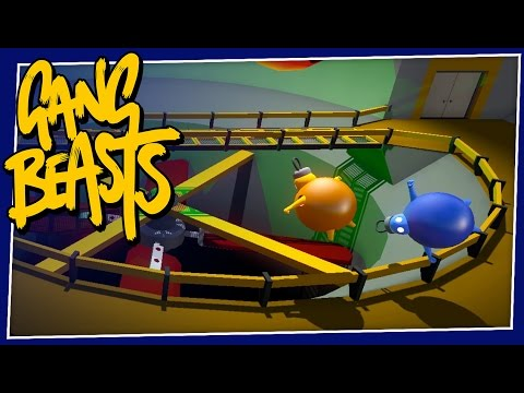 Gang Beasts - #161 - FLYING BAUBLES!