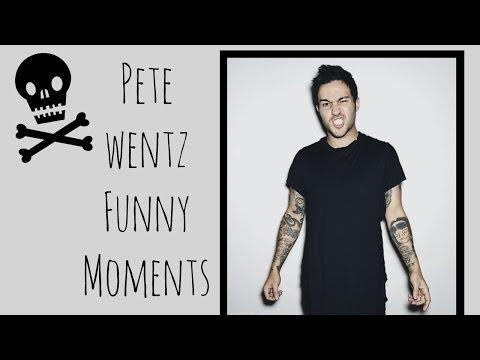 Pete Wentz Funny Moments