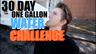 30 Day One Gallon Water Challenge | Healthy Way to lose weight