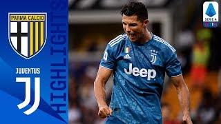 Parma 0-1 Juventus | Segna Chiellini, il VAR cancella il raddoppio di CR7 | Serie A