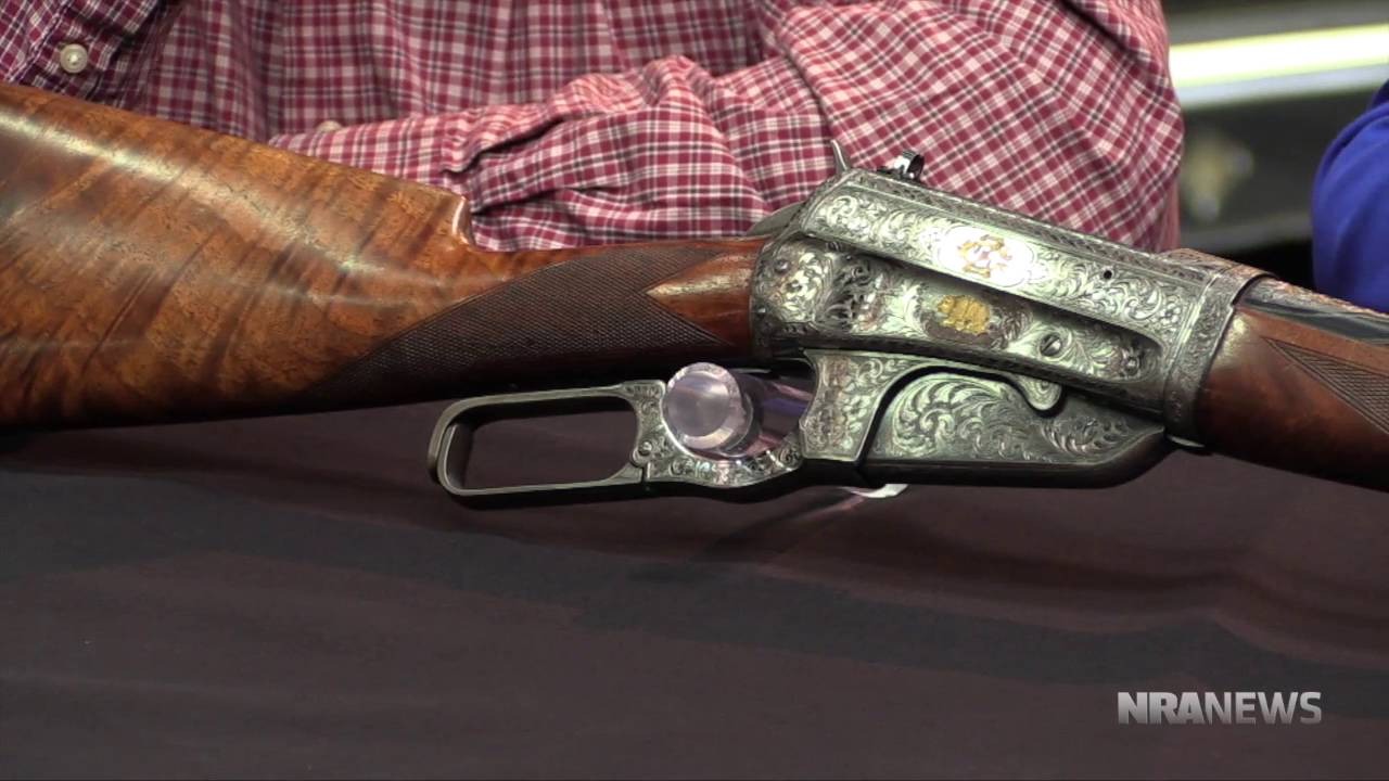 Teddy roosevelt guns to be displayed at nra national - Curator S Corner Winchester 1895 Presentation Rifle Nra National Firearms Museum