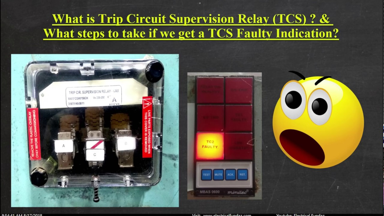 Trip Circuit Supervision Relay Explained in detail !!!!!!!