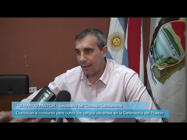 Defensoría del Pueblo: convocan a cubrir cargos vacantes