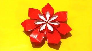 Amazing Origami Flower. Dairy Decor Flower