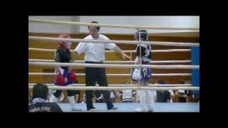 松岡円(ジュニアグローブマッチ1回戦)