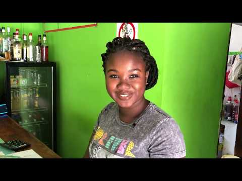 A tour of Blaggers Bar & Restaurant in Kololi, The Gambia