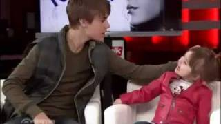 Justin Bieber and little sister Jazzy on etalk.