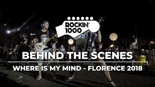 """where is my mind"" by pixies performed rockin'1000, the 1.000 musicians band, during concert ""rockin'1000 that's live"" in florence, july 2018. we are ..."
