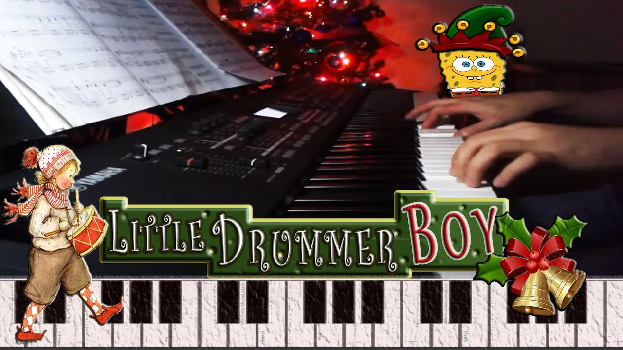 Little Drummer Boy(Piano) - YouTube