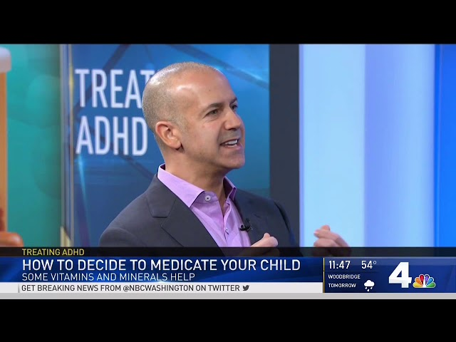 NBC4 - How to Decide to Medicate Your Child for ADHD