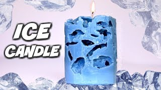 DIY ICE CANDLE   SoCraftastic