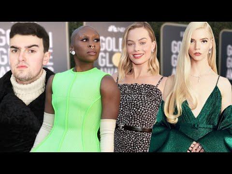 GOLDEN GLOBES 2021 FASHION ROAST (Margot Robbie FIRE Your Stylist)